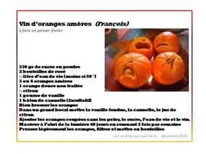 vin d oranges ameres