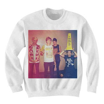 Sweater 5 Sos 5 Seconds Of Summer 5sos sweatshirt sweater 5 seconds of from fandamonium on