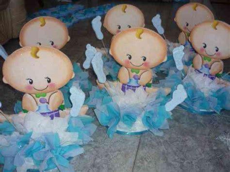 Decoracion De Baby Shower Niño by Centros De Mesa Para Baby Shower De Nino Grcom Info