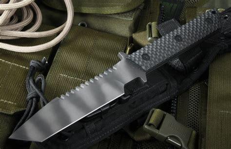 strider bt ss black gunner grip tactical fixed blade knife