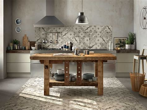 piastrelle cucina rustica rivestimento cucina rustica