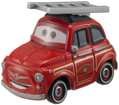 Tomica Disney Pixar Cars Rescue Gogo Ruigi Engine Type tomica diecast disney pixar cars rescue go go luigi truck type figure new ebay