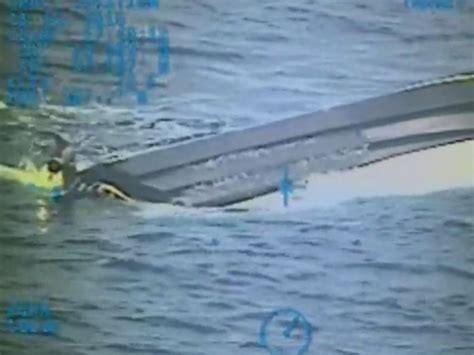 missing boat florida teens missing at sea first look at capsized boat
