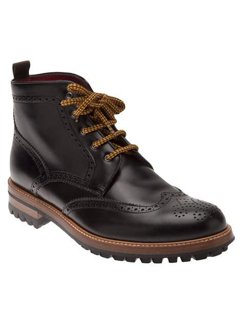 lug boots dsquared 178 lug sole ankle boot in for lyst