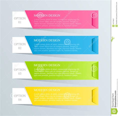 design template modern inforgraphic template can be used for banners