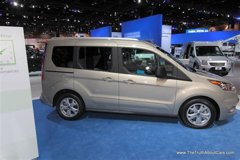 ford transit wagon chicago auto show 2014 ford transit connect wagon the