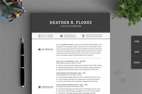 design cv help 10 resume templates to help you get a new job premiumcoding