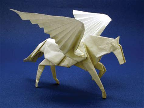 Pegasus Origami - crafts works of satoshi kamiya