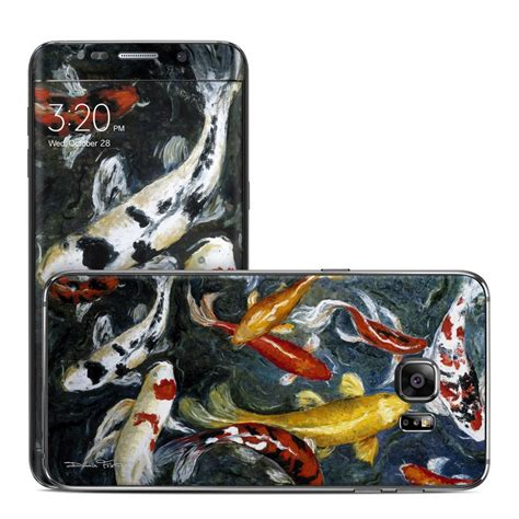 Garskin Samsung Galaxy S6 Edge Plus Sticker Stiker Glitter Skin S6 samsung galaxy s6 edge plus skin koi s happiness by foletto decalgirl