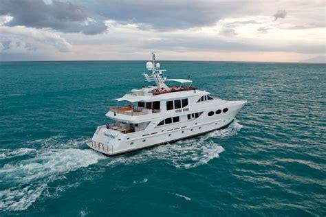 motor yacht chosen  charter   caribbean yacht charter superyacht news