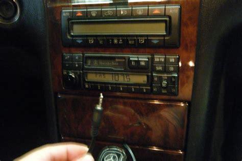DIY 1996-1998 W210 Becker Radio Auxillary IPOD hack with ... Listen To Ipod