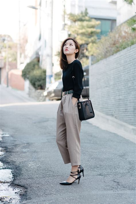 Korean Black Style koreanmodel for www iamalexfinch seoul style