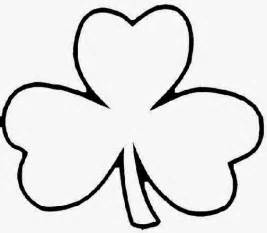clover coloring page shamrock coloring pages free coloring pictures