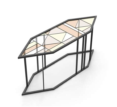 Stained Glass Coffee Table Stained Glass Coffee Table Santissimi Iii Serena Confalonieri For Sale At 1stdibs