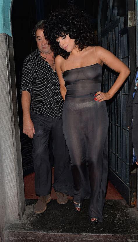 tracee ellis ross et son mari dlisted lady gaga leaving the l archiduc jazz bar in