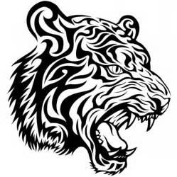 tribal tiger vector scaricare vettori gratis