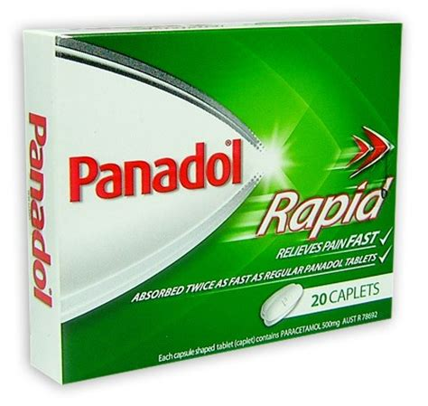 Panadol Menstrual Caplet buy panadol rapid caplets 20 at health chemist pharmacy