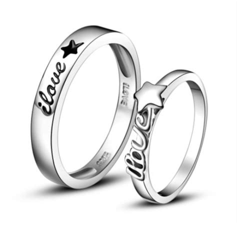 matching promise rings for him and wedding promise