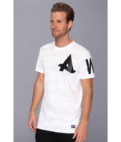 Hoodie Afrojack 1 Azk g afrojack allover ss in white for lyst