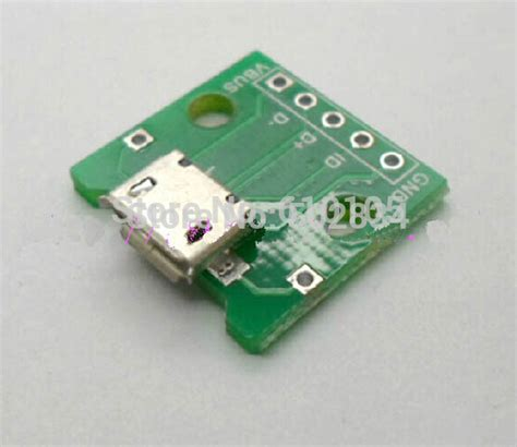 Soket Micro Usb Cewek Board Usb 01 1 10pcs lot micro usb pcb mount board diy adapter connector in connectors from home