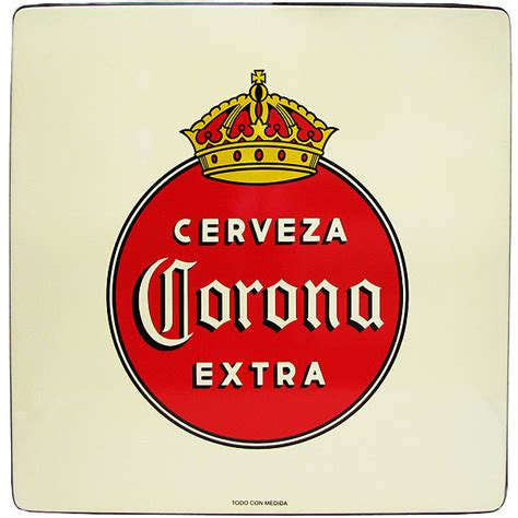mexican beer table tops cantina supplies corona extraold logo table top can052