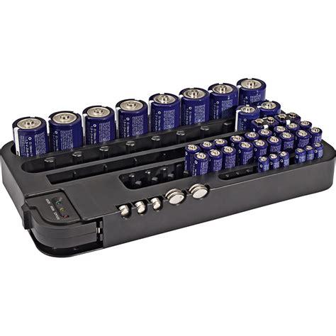 batterie aufbewahrungsbox mit tester g 252 nstig kaufen im - Len Mit Batterie