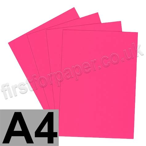 self stick paper u stick fluorescent pink self adhesive paper a4