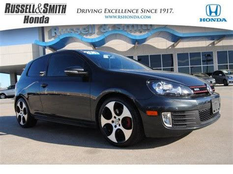 sell used 2010 volkswagen gti 2dr hb man pzev in houston texas united states for us 18 811 00