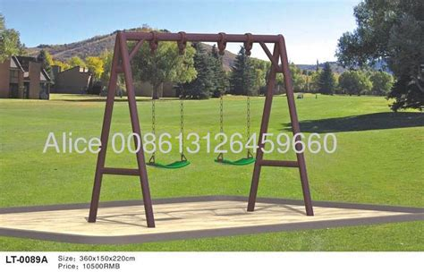 swing set manufacturers swing set with 2 rubber seats lt 0089a manufacturer from