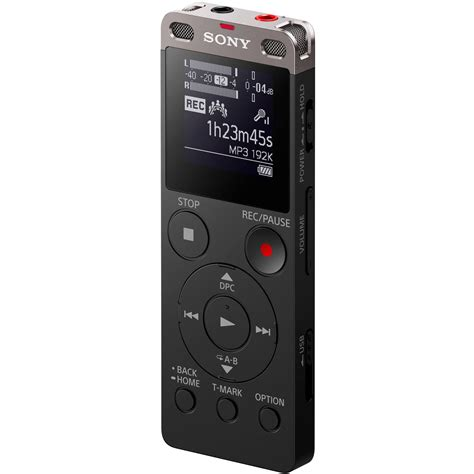sony icd ux560 digital voice recorder with built in