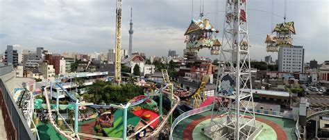 theme park tokyo hanayashiki amusement park asakusa wowsabi