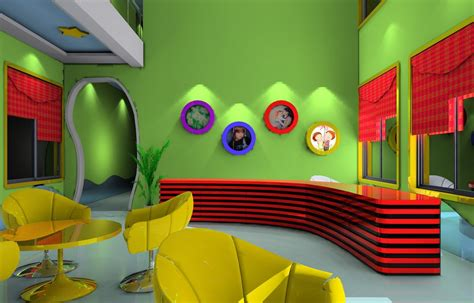Paint Designs For Kitchen Walls by Kindergarten Download 3d House