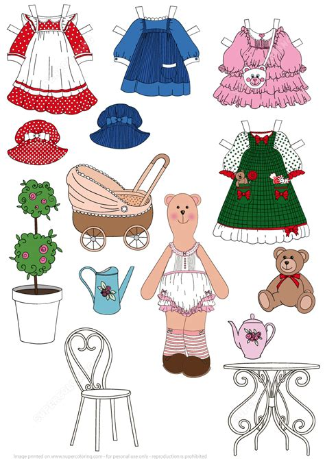 paper dress up dolls template dress up paper doll free printable papercraft templates