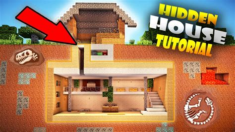 minecraft easy secret base door tutorial