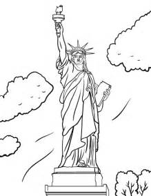 statue of liberty color printable statue of liberty coloring page free pdf