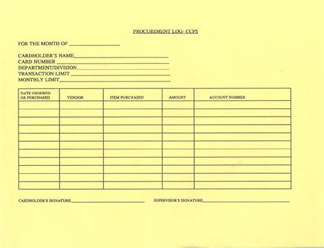 procurement request form template sle purchasing forms unc school of government
