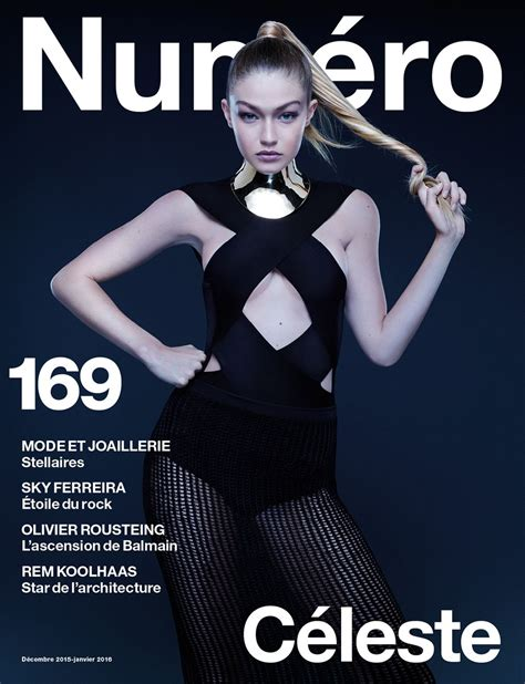 The Newsletter Magazinedecember Issuei by Gigi Hadid In Numero Magazine December 2015