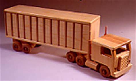 woodwork wooden truck plans  plans