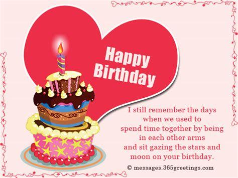 birthday wishes for your boyfriend birthday wishes for ex boyfriend 365greetings