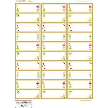 avery template 5260 blank martha stewart home office with avery easy peel 174 white