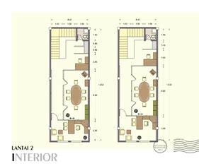 Layout Rumah Kantor | contoh denah rumah layout annahape studio desain rumah