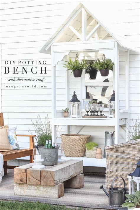 diy roof decorations outdoor spaces that will inspire you the cottage market