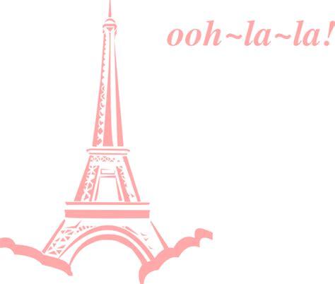 ooh la l instructions pink eiffel ooh la la clip art at clker com vector clip