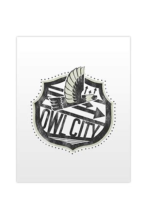 Owl City 03 Raglan by Owl City Merch Official Store On District Lines