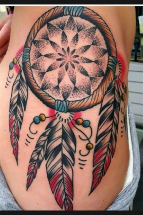 dreamcatcher tattoos on side 55 dreamcatcher tattoos tattoofanblog