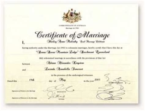 Marriage certificate australia nsw map
