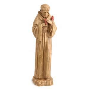 small st francis statue spiritual