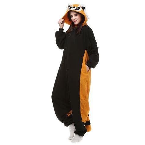 Kt Pj Top So49 Detail Di Pic raccoon kigurumi costume unisex fleece pajamas onesie cosplaymade ca