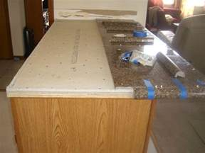 granite tile countertop diy backsplashes tiling ideas