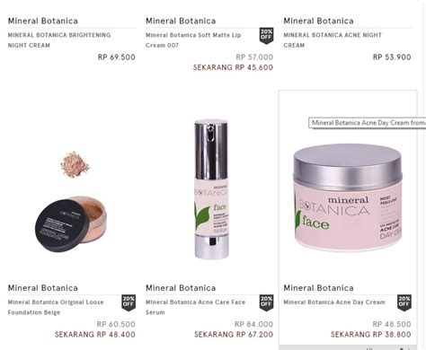 Makeup Mineral Botanica Dari Teluk Buyat Jurnal Evi Indrawanto